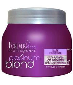 Máscara Matizadora Platinum Blond Forever Liss