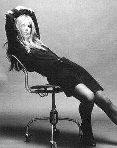 Nico - Warhol Superstar in the 60's . Singer- songwriter of The Velvet Underground