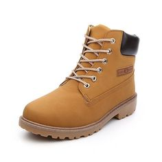 Warm Snow Timber Outdoor Boots