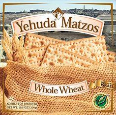 Yehuda Whole Wheat Matzo 10.5oz (5 Pack) Great Value! Yehuda…