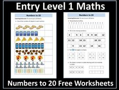 These free worksheets have been designed for students working towards the AQA Entry Level Certificate in Maths who are working at Entry Level You may al. Math Numbers, Writing Numbers, Comparing Numbers, Powerpoint Lesson, Aqa, Entry Level, Word Problems, Guided Reading, Student Work