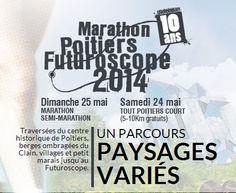 Le week-end où Tout Poitiers court. Du 24 au 25 mai 2014 à poitiers.