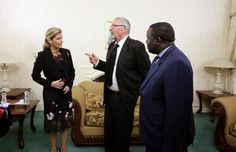 HRH Countess of Wessex - Her Royal Highness the Countess of Wessex is in Zambia from 10-11 November in order to represent HM Queen Elizabeth II at the State funeral of the late President of Zambia, His Excellency Mr Michael Chilufya Sata.