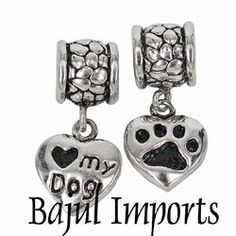 Dog Pandora Bead - Etsy