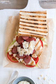 Club-Sandwich mit ge