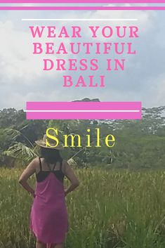 Bali has tropical weather. Nice weather there, everyday with sun and sometimes raining especially in Oct- Feb.  People are open for tourist to express their best costume.   Bring light dress, short, cardigan, beautiful heat, sneakers  and use colorful dress. & Don't forget your best  smile.