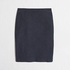 """<ul><li>Cotton/poly.</li><li>Sits at waist.</li><li>19 1/2"""" long.</li><li>Back zip.</li><li>Back vent.</li><li>Lined.</li><li>Dry clean.</li><li>Online exclusive.</li><li>Import.</li></ul>"""