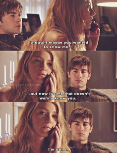 Photo of GG quotes for fans of Gossip Girl 29694499 Gossip Girls, Gossip Girl Scenes, Gossip Girl Quotes, Gossip Girl Fashion, Tv Quotes, Movie Quotes, Poem Quotes, Qoutes, Life Quotes