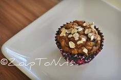 Healthy Pumpkin Oatmeal Chocolate Chip Muffins - Click photo for recipe