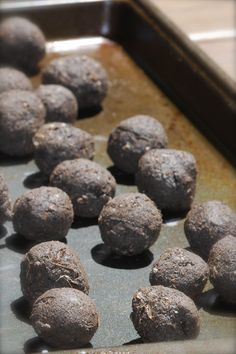 Seed bombs = (to do the most good and least harm, choose only wildflowers /native/ to your area, and useful to local bugs and birds)