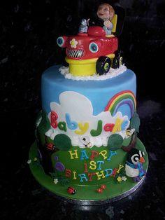 Baby Jake Cake by SJ Cake Boutique, via Flickr