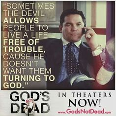 Sometimes ... but God always save us.