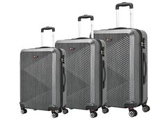 Luggage Sets Collections | Brio Luggage PET Ridged Expandable Suitcase Set C607 Black *** You can find more details by visiting the image link. Note:It is Affiliate Link to Amazon.