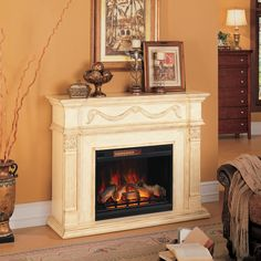 Shop for the ClassicFlame Gossamer Fireplace at Darvin Furniture - Your Orland Park, Chicago, IL Furniture & Mattress Store