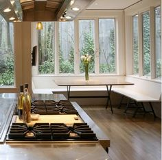 modern banquette seating - Google Search