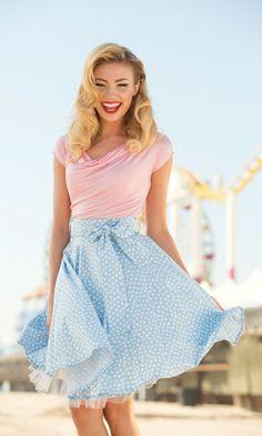 Pretty spring skirt!