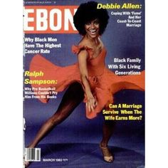 Debbie Allen on the cover of Ebony ============================ If you are having a hard time doing traditional exercises; try turning on some music and dancing as a an alternative way to get your heart pumping. Jet Magazine, Black Magazine, Ebony Magazine Cover, Magazine Covers, Dona Summer, John Johnson, Debbie Allen, Vintage Black Glamour, Black History Facts