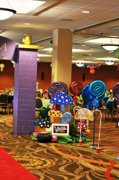 Willy Wonka Candy Extravaganza Celebration
