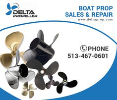 At The Delta Propeller Company we supply and services boat propellers for nearly every type of vessel. We offer new and used boat props for sale at guaranteed low prices. Visit us today at www.Deltaprop.com. Boat Props, Boat Propellers, Props For Sale, Boater, Ohio, Commercial, Learning, Catalog, Search
