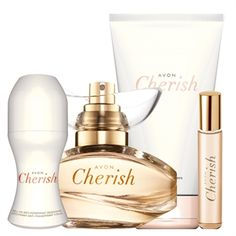 Cherish Set - All 4 For £12 Includes - perfume spray, roll on, body lotion and purse spray Buy online for direct delivery to your door or order direct through me and pay NOTHING till 2nd August!  https://www.avon.uk.com/store/michellesbeautybargains Have a friend who likes make up? Let them know!  #fragrance #perfume #forher #gifts #women #offer