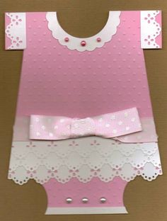 Baby Girl Onesie by PamJR - Cards and Paper Crafts at Splitcoaststampers