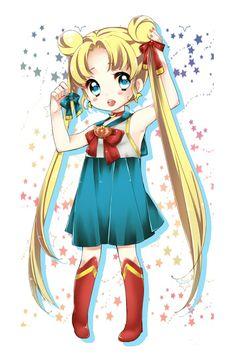 無題 by Mocco@twitter Baby Sailor Moon