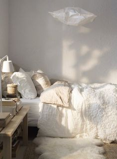 Steal This Look Serene Scandinavian Winter Bedroom is part of Cozy bedroom Winter - Spend any time cruising the Web lately and you can't help but get caught up in the recent studies directly linking productivity (not to mention well being