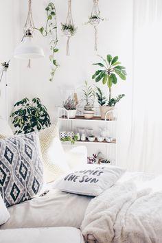 pflanzenecke im wohnzimmer