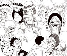 Happy Corazon and Law