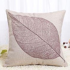 Leaf Skeleton Pillow
