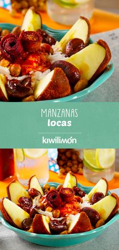 Food To Go, Good Food, Food And Drink, Yummy Food, Tasty, Mexican Snacks, Mexican Food Recipes, Chamoy Apples, Gourmet Apples