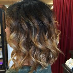 High contrast ombre and balayage