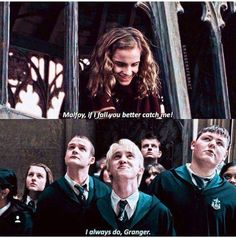 I wanna be Draco's Hermione