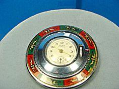 Roulette wheel pocket watch