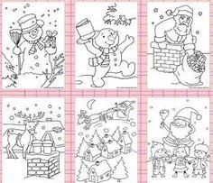 266 χριστουγεννιάτικες εικόνες έτοιμες για εκτύπωση και χρωμάτισμα.