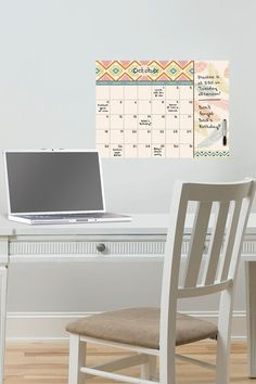 Tribal Beat Monthly Calendar With Notes by Brewster Home Fashions on @HauteLook