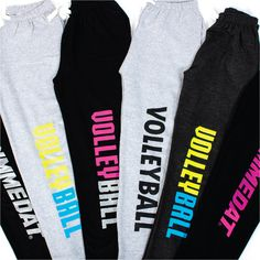 Fall in love with these GIMMEDAT Volleyball sweatpants - 25% off for a limited time!