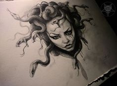 medusa tattoo drawing - Buscar con Google