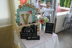 Diy photo booth chalk board signs