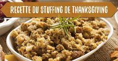 Le stuffing va avec la dinde comme 1+1 font 2, c'est à dire que si vous voulez réussir votre repas de Thanksgiving, vous devez découvrir cette recette !