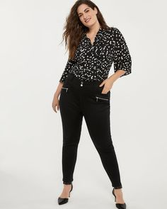f0afb121058 Shop online for Petite Universal Fit High Waisted Jean Legging - In Every  Story. Find Leggings