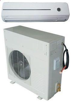 Solar air conditioner. Yeah baby!