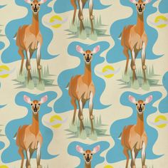 Deer pattern by JTO