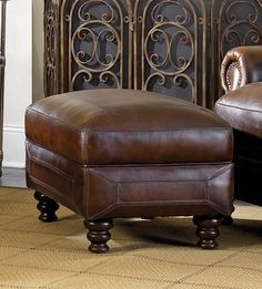 Ashland Ottoman | Simon Li Furniture | Home Gallery Stores