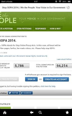 Come on people!!!! :X we NEED TO STOP SOPA IT WILL RUIN OUT FANDOM!!!!!! ;_/