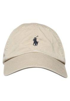Bonnets, chapeaux   casquettes Polo Ralph Lauren CLASSIC SPORT - Casquette  - beige blue 0fcbaf85524