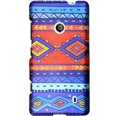 Blue Decorative Tribal Protector Case for Nokia Lumia 521