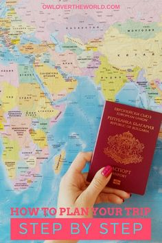 HOW TO PLAN YOUR TRIP STEP BY STEP GUIDE  How to plan a trip / Trip planning / Travel guide / Trip guide / Planning  guide / Guide to planning a trip / Plan a trip / Travel the world / How to / How to