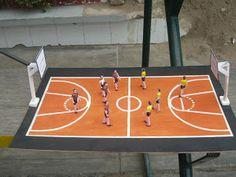 8 Ideas De Basketboll Maqueta Maquetas Cancha De Baloncesto Basquet