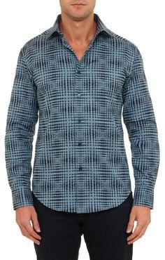 Bens Tailored Fit Robert Graham Sport Shirt